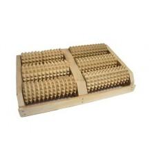 Массажёр деревянный роликовый для стоп