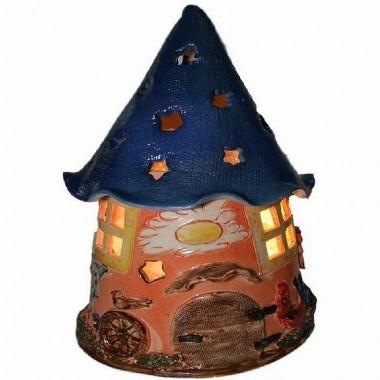 Солевая лампа «Дом гнома» (для детской)