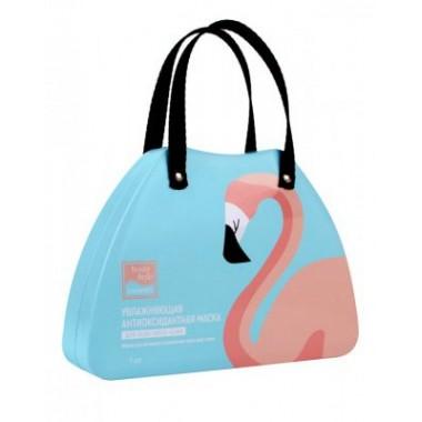 Маска Beauty Style увлажняющая антиоксидантная «Lovely Care Фламинго»