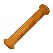 Массажёр деревянный для ступней  (валик с шипами)