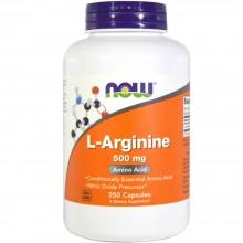 Биологически активная добавка Now Foods L-Аргинин 500мг / 100 капс