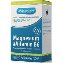 Биологически активная добавка VP Магний + В6 / 60таб