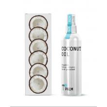 Кокосовое масло, PALM, Organic Extra Virgin Cold Pressed, 230 мл