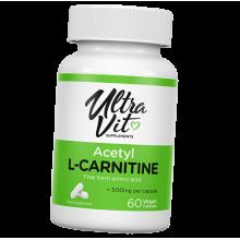 УльтраВит Сапплементс Ацетил-L-Карнитин 750мг/60к