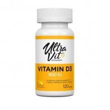 УльтраВит Сапплементс Витамин  Д3/ 120капс